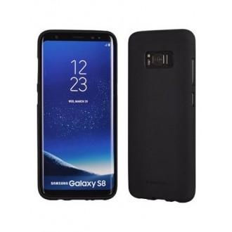 """Juodas silikoninis dėklas Samsung Galaxy S8 Plus telefonui """"Mercury Soft Feeling"""""""
