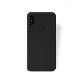 """Juodas silikoninis dėklas Xiaomi Redmi Note 5 Pro telefonui """"Jelly Flash Mat"""""""