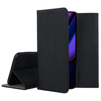 """Juodos spalvos atverčiamas dėklas Apple iPhone 11 Pro telefonui """"Smart Magnet"""""""