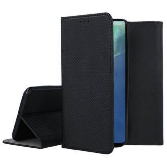 """Juodos spalvos atverčiamas dėklas Samsung Galaxy Note 20 telefonui """"Smart Magnet"""""""