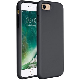 Juodos spalvos dėklas X-Level Dynamic Apple iPhone 7 / 8 / SE 2020 telefonui
