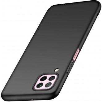 Juodos spalvos dėklas X-Level Dynamic Huawei P40 Lite / Nova 6 SE / Nova 7i telefonui