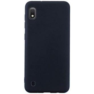 Juodos spalvos dėklas X-Level Dynamic Samsung Galaxy A105 A10 telefonui