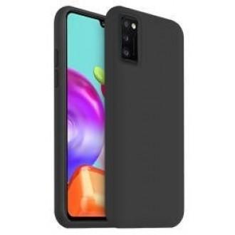 Juodos spalvos dėklas X-Level Dynamic Samsung Galaxy A41 telefonui
