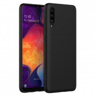 Juodos spalvos dėklas X-Level Dynamic Samsung Galaxy A505 A50 / A507 A50s / A307 A30s telefonui