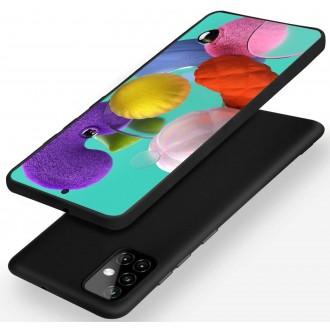 Juodos spalvos dėklas X-Level Dynamic Samsung Galaxy A515 A51 telefonui