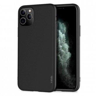 Juodos spalvos dėklas X-Level Guardian Apple iPhone 11 Pro telefonui