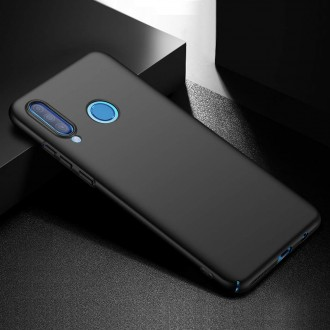 Juodos spalvos dėklas X-Level Guardian Huawei P30 Lite telefonui