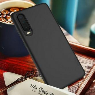 Juodos spalvos dėklas X-Level Guardian Huawei P30 telefonui