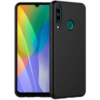 Juodos spalvos dėklas X-Level Guardian Huawei Y6P telefonui