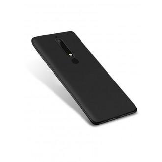 Juodos spalvos dėklas X-Level Guardian Nokia 6 2018 telefonui