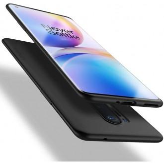 Juodos spalvos dėklas X-Level Guardian Oneplus 8 Pro telefonui