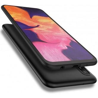 Juodos spalvos dėklas X-Level Guardian Samsung Galaxy A105 A10 telefonui