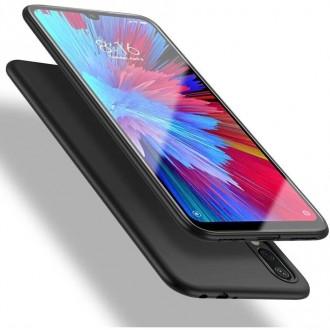 Juodos spalvos dėklas X-Level Guardian Samsung Galaxy A21 telefonui