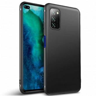 Juodos spalvos dėklas X-Level Guardian Samsung Galaxy A31 telefonui