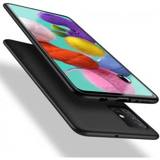 Juodos spalvos dėklas X-Level Guardian Samsung Galaxy A41 telefonui
