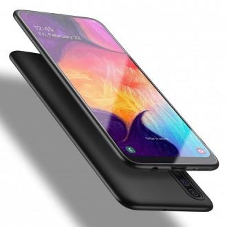 Juodos spalvos dėklas X-Level Guardian Samsung Galaxy A505 A50 / A507 A50s / A307 A30s telefonui