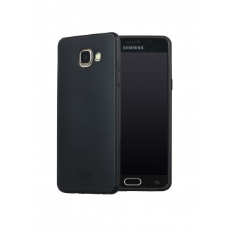Juodos spalvos dėklas X-Level Guardian Samsung Galaxy A520 A5 2017 telefonui