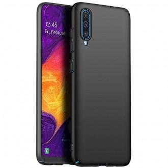 Juodos spalvos dėklas X-Level Guardian Samsung Galaxy A705 A70 telefonui