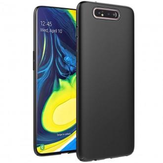 Juodos spalvos dėklas X-Level Guardian Samsung Galaxy A805 A80 telefonui