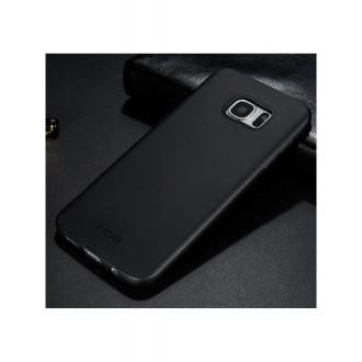 Juodos spalvos dėklas X-Level Guardian Samsung Galaxy G935 S7 Edge telefonui