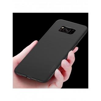 Juodos spalvos dėklas X-Level Guardian Samsung Galaxy G950 S8 telefonui