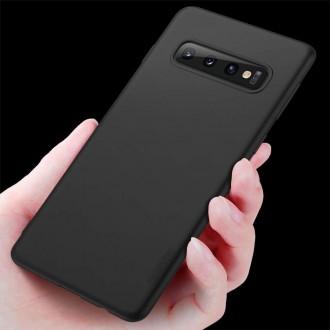 Juodos spalvos dėklas X-Level Guardian Samsung Galaxy G973 S10 telefonui