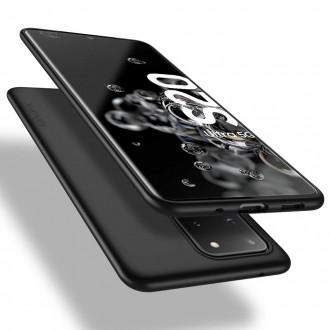 Juodos spalvos dėklas X-Level Guardian Samsung Galaxy G988 S20 Ultra telefonui
