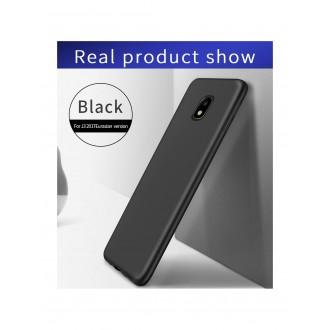 Juodos spalvos dėklas X-Level Guardian Samsung Galaxy J330 J3 2017 telefonui