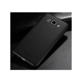 Juodos spalvos dėklas X-Level Guardian Samsung (J510) J5 2016 telefonu