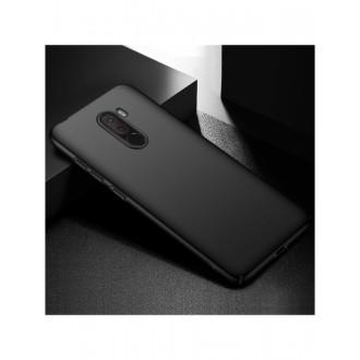 Juodos spalvos dėklas X-Level Guardian Xiaomi Pocophone F1 telefonui