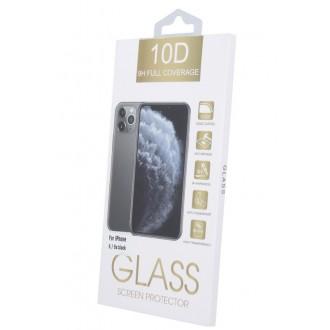 LCD apsauginis stikliukas 10D Full Glue Samsung A02s lenktas juodas