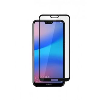 LCD apsauginis stikliukas 9D Full Glue Huawei P20 juodas