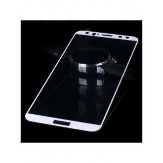 """LCD apsauginis stikliukas """"5D Full Glue"""" Huawei P10 lenktas baltas"""
