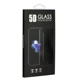 LCD apsauginis stikliukas 9H 5D Samsung A52  A52 5G juodais krašteliais
