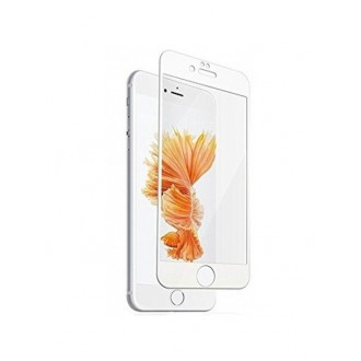 "Lenktas baltas apsauginis grūdintas stiklas Apple iPhone 6 Plus / 6S Plus telefonui ""3D Perfectionists"""