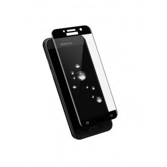 Lenktas juodas grūdintas stiklas 5D Full Glue Samsung Galaxy J330 J3 2017  telefonui
