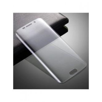 Lenktas skaidrus 3D apsauginis grūdintas stiklas Samsung Galaxy S7 Edge telefonui