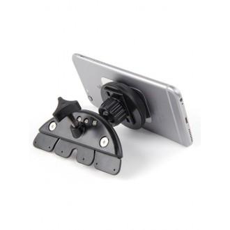 Magnetinis automobilinis universalus telefono laikiklis H01, tvirtinamas į CD grotuvą