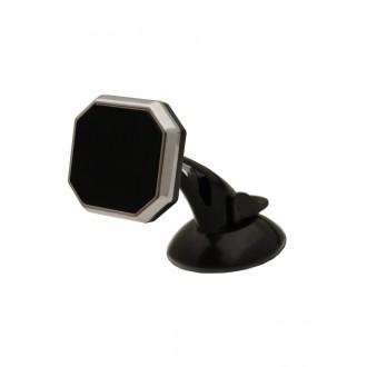 Magnetinis automobilinis universalus telefono laikiklis H05, tvirtinamas prie lango, trumpa-standi kojelė