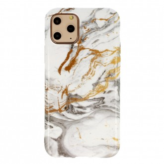 Dėklas Marble Silicone Samsung A217 A21s telefonui (Design 2)
