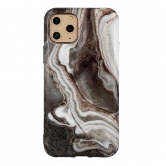 Dėklas Marble Silicone Apple iPhone 12 / 12 Pro telefonui (Design 7)