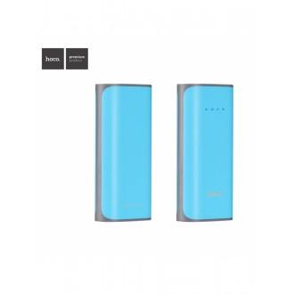 Mėlyna išorinė baterija POWER BANK HOCO B21 5200mAh