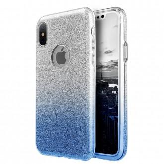 """Mėlynas blizgantis silikoninis dėklas Xiaomi Mi Note 10 / Mi Note 10 Pro / Mi CC9 Pro telefonui """"Shine"""""""