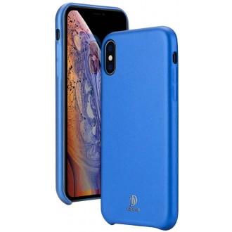 "Mėlynas silikoninis dėklas Apple Iphone XS Max telefonui Dux Ducis ""Skin Lite"""