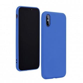 """Mėlynas silikoninis dėklas Samsung Galaxy G986 S20 Plus telefonui """"Silicone Lite"""""""
