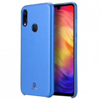 "Mėlynas silikoninis dėklas Xiaomi Redmi Note 7 / Note 7 Pro telefonui Dux Ducis ""Skin Lite"""