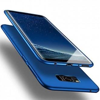 Mėlynos spalvos dėklas X-Level Guardian Samsung Galaxy G950 S8 telefonui