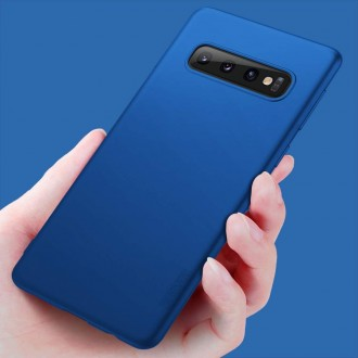 Mėlynos spalvos dėklas X-Level Guardian Samsung Galaxy G973 S10 telefonui