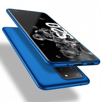 Mėlynos spalvos dėklas X-Level Guardian Samsung Galaxy G988 S20 Ultra telefonui